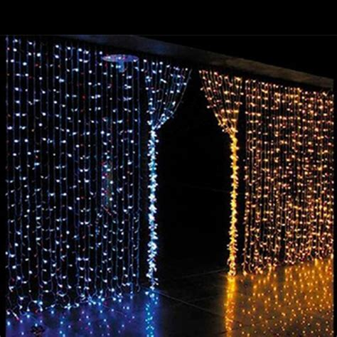 curtain lights christmas 2015 wholesale 3mx3m 300 led net string light curtain l
