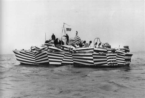 how to paint a boat camouflage pattern the made shop dazzle camouflage