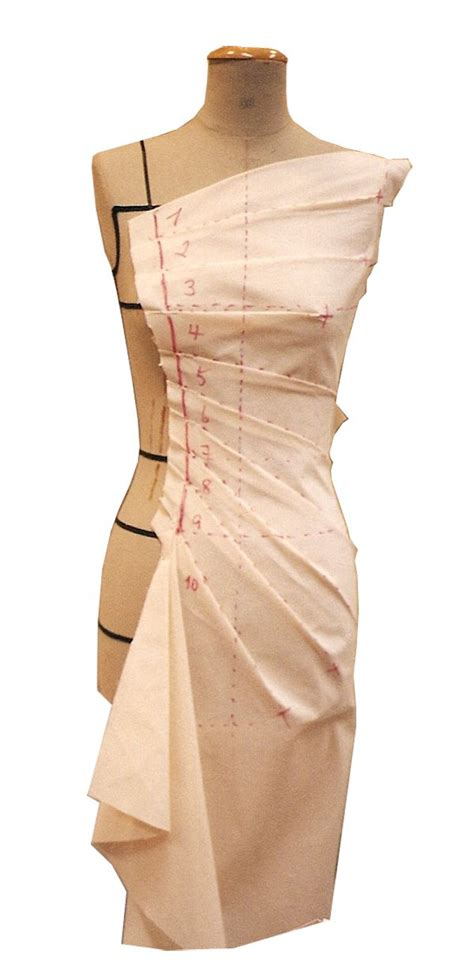 garment draping asakeoge couture draping for fashion design