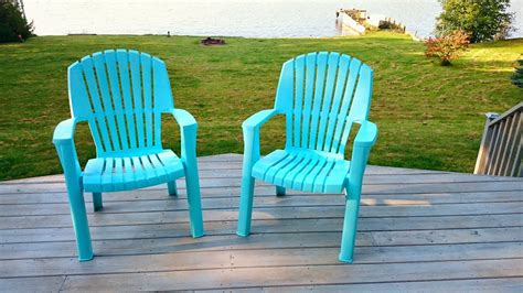 How To Spray Paint Plastic Lawn Chairs Dans Le Lakehouse Paint For Outdoor Plastic Furniture