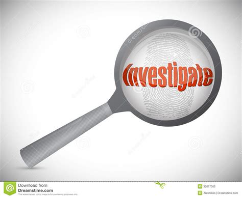 Investigator Search Investigation Search Illustration Stock Photos Image 32017063