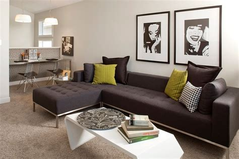 Where To Throw Furniture In Edmonton - edmonton charcoal sectional family room contemporary with