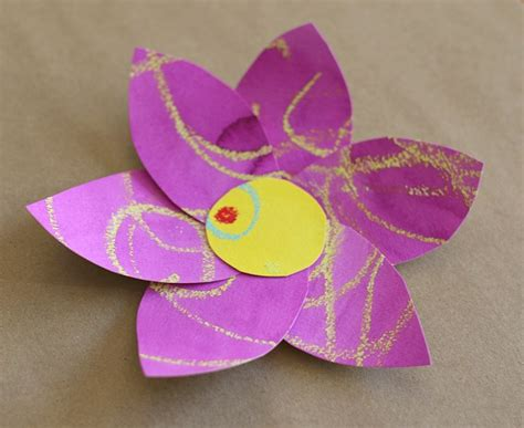 crafts flower flower crafts for kindergarten craftshady craftshady