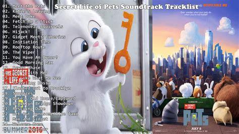 secret life  pets  soundtrack  tracklist