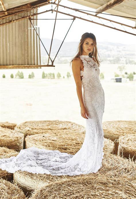 grace lace wedding dresses rustic wedding chic