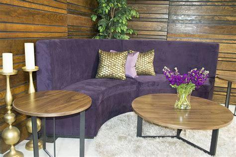 aubergine booth  designer event furniture rental event lounge furniture furniture