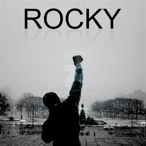 Plakat Rocky by Rocky Poster By Lucvanloon On Deviantart