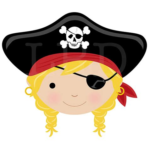 Cool Wall Clocks pirate face girl personalized bowl pirate bowl kids