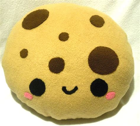 Chocolate Chip Cookie Pillow by Chocolate Chip Cookie Pillow By Sugarjerseyjones On Deviantart