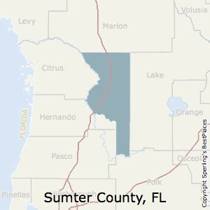 map of sumter county florida best places to live in sumter county florida
