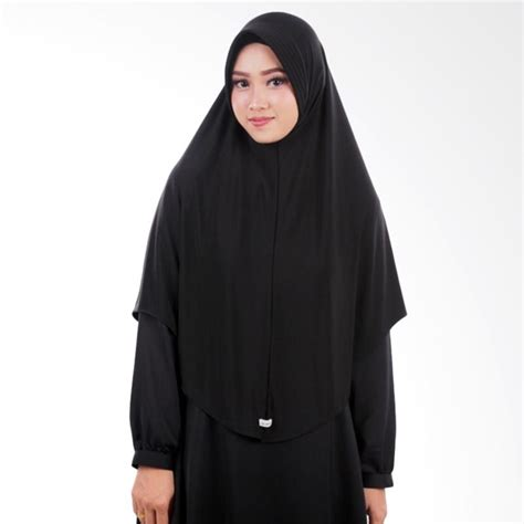 Jilbab Aulia jual atteena aulia keyra jilbab instant black