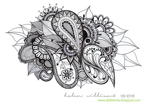 Drawing Designs by Drawing Flower Doodles Pencil Drawing Collection