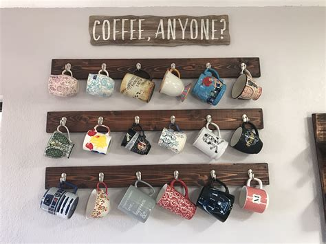 cabinet coffee mug rack coffee mug rack hanging coffee mugs on the walls