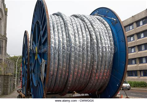 high voltage cable laying underground cables stock photos underground cables stock
