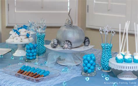 cinderella theme party around my family table