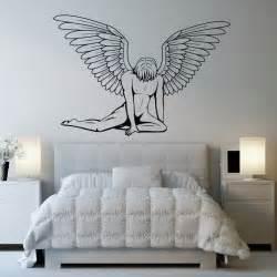 Sticker Wall Art details about male angel wall art sticker wall art decal transfers