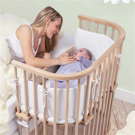 crib that attaches to bed babybay bedside cribs