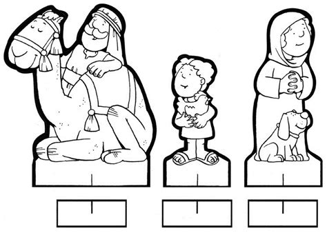dibujos navideños para colorear portal belen figuritas recortables del belen para colorear belenes