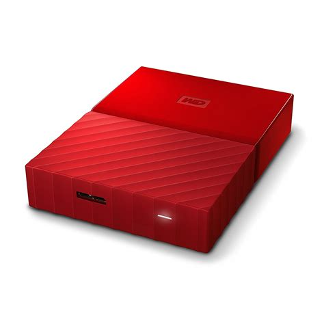 Wd My Passport 2tb Usb 30 wd my passport 2 tb 2 5 quot usb 3 0 rojo