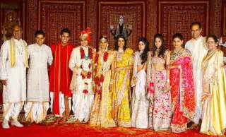 The most spectacular weddings 2011