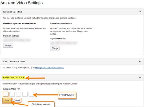 reset amazon instant video pin ps3 how to set up change your amazon video pin daves