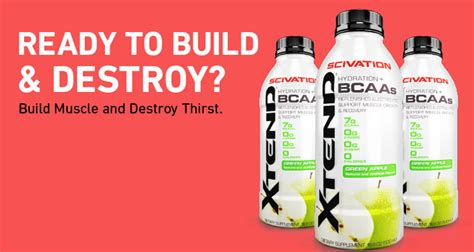 xtend hydration bcaas scivation xtend rtd reviews bcaas and hydration