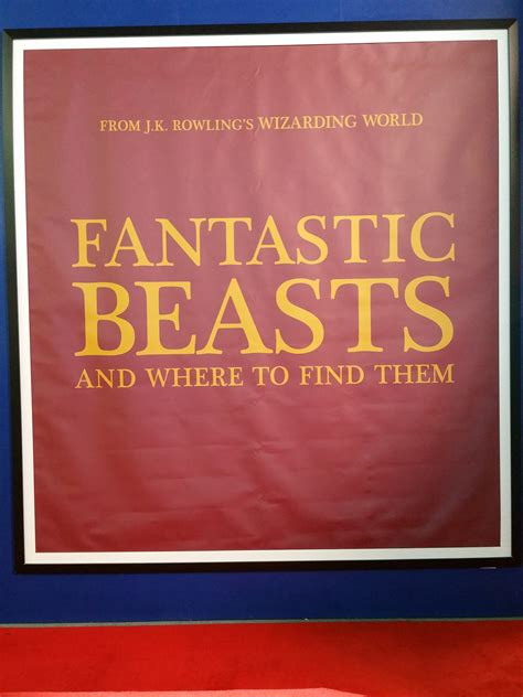 fantastic beasts and where to find them fantastic beasts and where to find them logo revealed collider