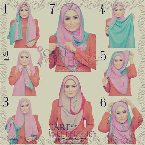 tutorial natalie scarf hijab tutorial scarf sweethoney