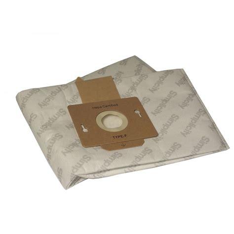 Garbage Bag Plastik Sah hepa microfilter vacuum bags simplicity symmetry pkg 6