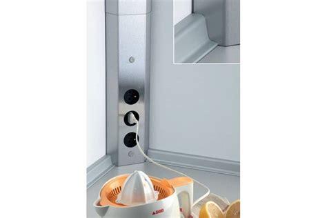 bloc multiprise cuisine bloc 3 prises d angle pour cr 233 dence accessoires de cuisines