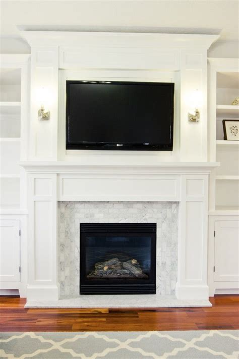 Fireplace Without Surround by 17 Best Ideas About Fireplace Surrounds On