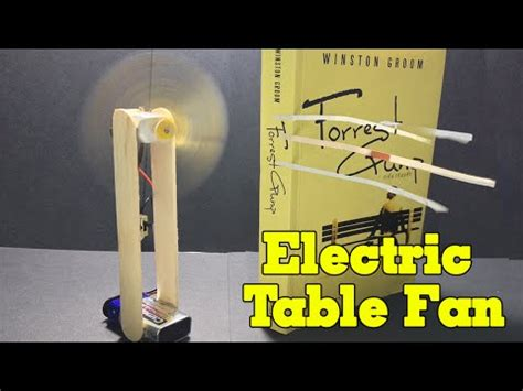 how to make electric fan how to make an electric fan easy and simple