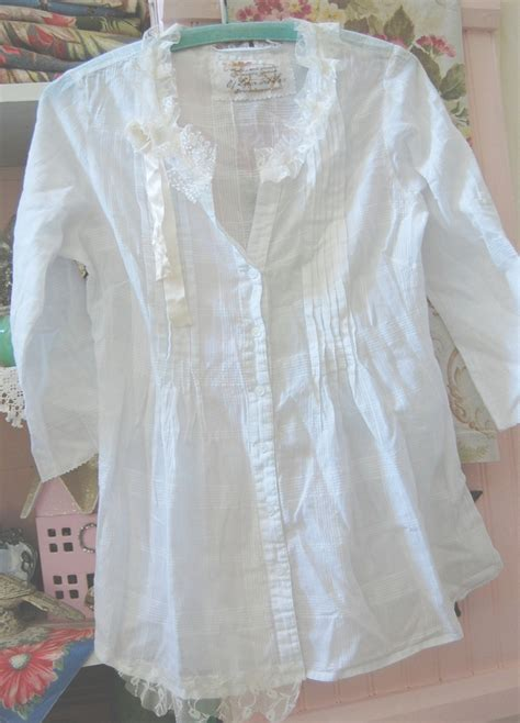 shabby chic altered clothing country chic clothes