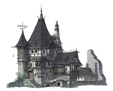 fantasy houses fantasy house architecture google search dark fantasy