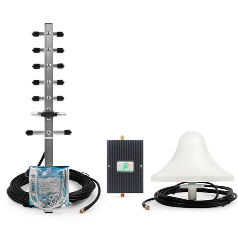 1900mhz 70db 3g cell phone signal booster repeater lifier antennas kit home ebay