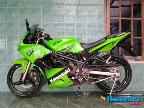 jual kawasaki rr se 150 th 2010 hijau purwokerto motor