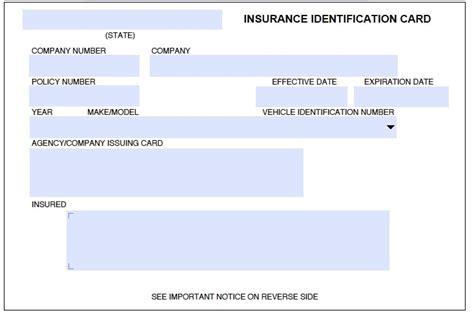 Progressive Id Card Template by Progressive Insurance Card Pdf Journalingsage