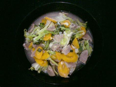 resep membuat capcay praktis resep masakan praktis resep capcay bakso