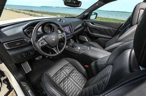 maserati levante dashboard maserati levante s gransport 2018 uk review autocar