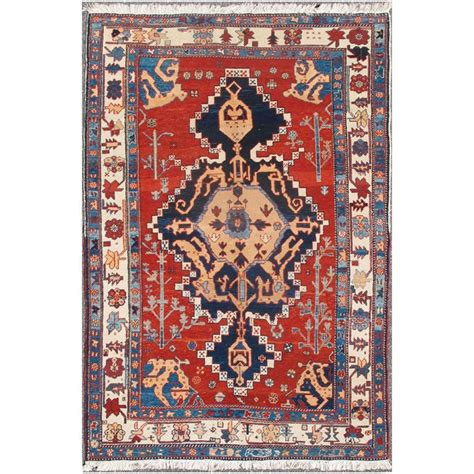 Turkish Tribal Rugs by Vintage Turkish Tribal Rug With Toned Central Medallion And Border For Sale At 1stdibs