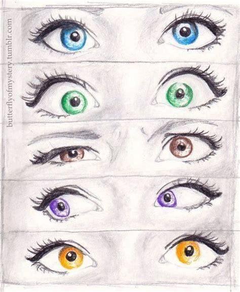 Good Color Pairs by Cute Drawings Of Eyes Diy Homer
