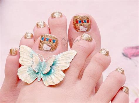 latest toe nail art designs for eid 2014 9 life n fashion
