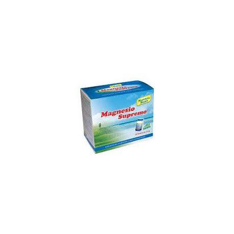 magnesio supremo prezzi magnesio supremo 32 buste integratore boscia club
