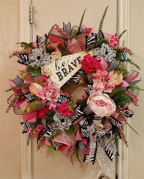 summer wreath summer decor summer door everyday wreath bee 371 best images about floral wreaths and swags on