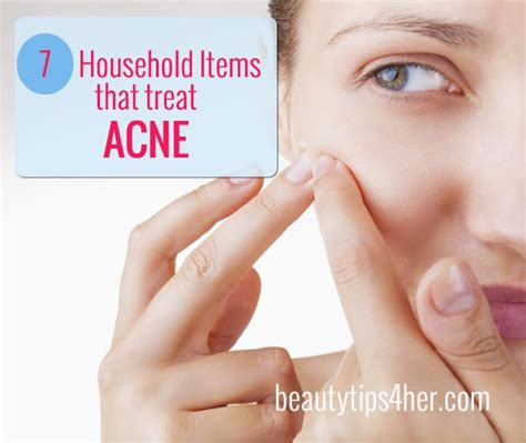 essential household items 7 basic household items that treat acne natural beauty
