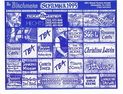 Birchmere Calendar Birchmere Calendar Search Results Calendar 2015