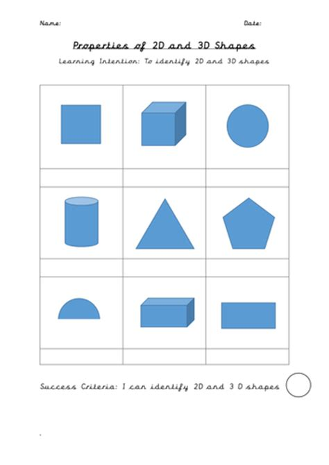 2d And 3d Shapes Worksheet by Rainforest Coordinates Slides And Sheets By Uk