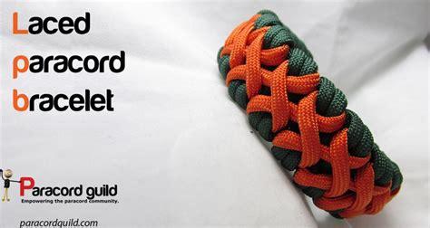 Laced paracord bracelet   Oliefantasie