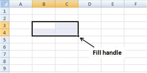 excel 2010 how to use fill handle tutorial tips and fill handle not working in ms office excel 2010 and 2007