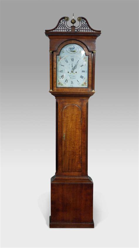 antique longcase clock antique grandfather clock oak